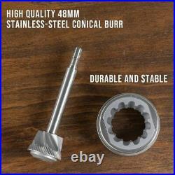 1ZPRESSO JX Coffee Espresso Grinder Stainless Steel Portable Hand Mill Aluminium