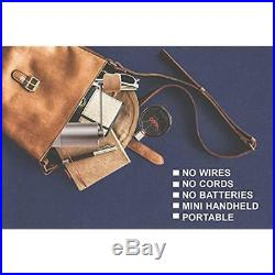 1ZPresso Mini Coffee Grinder Manual Bur Slim Portable Stainless Steel With & 20