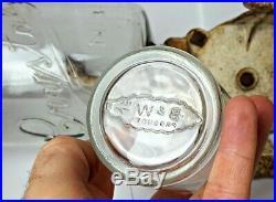 ARCADE # 3 COFFEE GRINDER Antique WALL MOUNT Victorian BURR MILL Jar CAST IRON
