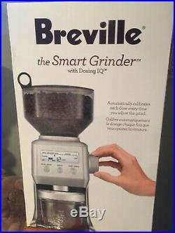 BREVILLE BCG800XL Smart Coffee GrinderStainlessBurr Espresso Bean Machine