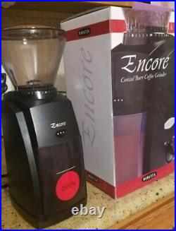 Baratza Encore Conical Burr Coffee Grinder Black Model 485