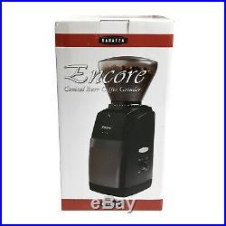 Baratza Encore Conical Burr Coffee Grinder Compact Design Black