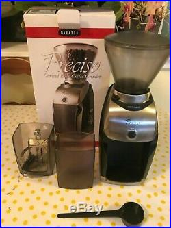 Baratza Preciso Conical Burr Coffee Espresso Grinder