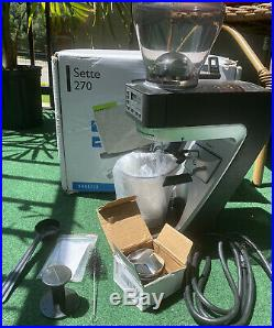 Baratza Sette 270 Conical Burr Espresso Coffee Bean Grinder With Original Box