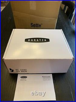 Baratza Sette 270 Programmable Dosing Conical Burr Coffee Grinder Refurbished