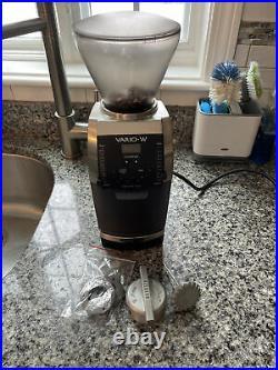 Baratza Vario-W Steel Burr Coffee Grinder PLUS ceramic burrs
