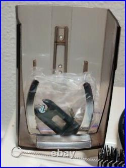 Baratza Virtuoso Conical Burr Coffee Grinder + portafilter holder + spare parts