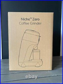 Black Niche Zero Coffee Espresso Grinder, USA - BRAND NEW