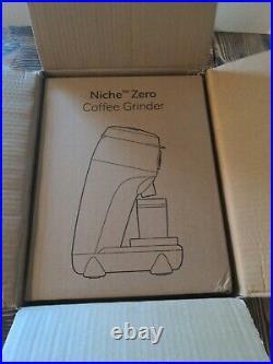 Black Niche Zero US Coffee Grinder