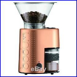 Bodum Bistro Electric Burr Coffee Grinder In Copper 10903-73UK-1