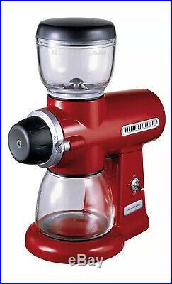 Brand-New! KitchenAid Artisan Empire Red Burr Grinder