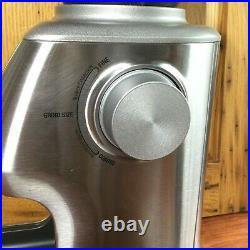 Breville BCG820BSSXL Smart Grinder Pro Coffee Bean Grinder EUC