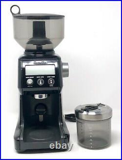 Breville BCG820BSSXL Smart Grinder Pro Coffee Bean Grinder Sesame Black EUC