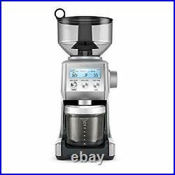 Breville BCG820BSS Smart Grinder Pro Coffee Bean Grinder, Brushed Stainles Steel