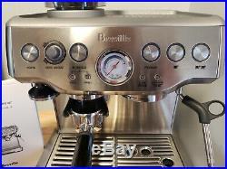 Breville Barista Express BES860XL 2 Cups Espresso Machine Silver