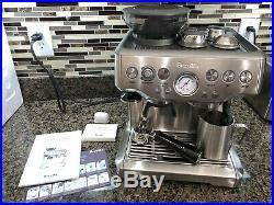 Breville Barista Express BES860XL 2 Cups Espresso Machine Silver MSRP $689