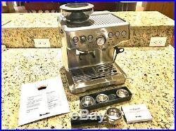 Breville Barista Express BES870XL 2 Cups Espresso Machine Silver