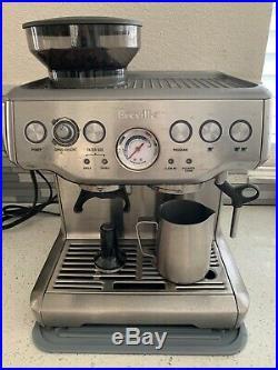 Breville Barista Express BES870XL Espresso Machine PLUS MINI Knock Box