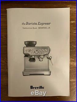 Breville Barista Express BES870XL Espresso Machine Silver