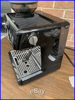 Breville Barista Express Espresso Machine BES870XL Black Sesame with accessories