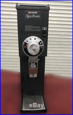 Bunn G3 Black 3 LB Bulk Coffee Bean Grinder #9027 Burr Adjustable Commercial NSF