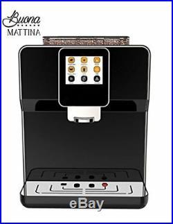 Buona Mattina Automatic Espresso Machine Touch Screen Black