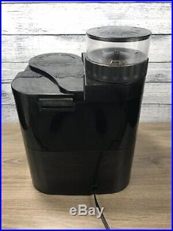 Capresso 454 CoffeeTEAM-S 10-Cup Coffee Maker/Burr Grinder Combination Machine