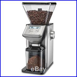 Commercial Coffee Grinder Automatic Electric Home Office Or Business Burr Mill