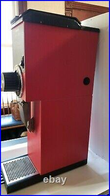 Commercial Coffee Grinder Red Bunn G3 HD with 3 lb Hopper Capacity