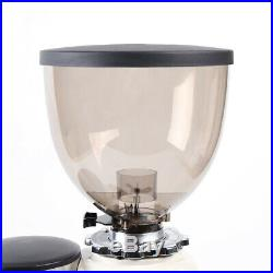 Commercial Espresso Coffee Grinder Burr Mill Machine 1200g with Bean Hopper