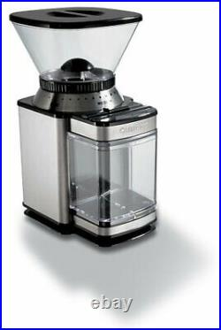 Cuisinart Professional Burr Coffee Grinder Holds Up To 250g Of Coffee Beans