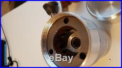 Custom made manual coffee grinder with 63mm conical burrs