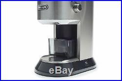 DeLonghi KG 521. M America KG521 Dedica Conical Burr Grinder new