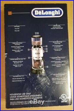 DeLonghi KG 521. M America KG521 Dedica Conical Burr Grinder new! 1 day Handling