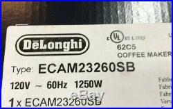 De'Longhi ECAM23260SB Magnifica Smart Espresso & Cappuccino Maker Brand New