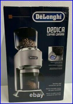 Delonghi Dedica Conical Steel Burr Coffee Grinder KG521