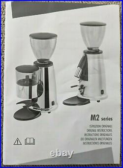 Elektra MSD Espresso Burr 50mm Coffee Grinder, Stepless Adjustment, 220 volt