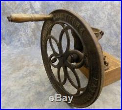 Enterprise Coffee Grinder No650 Burr Mill Cast Iron Corn Bean Seed Grain Vintage