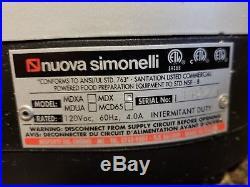 Espresso Burr Coffee Grinder Commercial Nuova Simonelli MDX