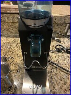 Espresso Coffee Grinder Rancilio Model Rocky SD Doserless