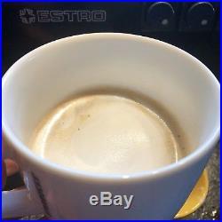 Estro Profi Espresso Machine Built In Burr Coffee Bean Grinder Made in Italy