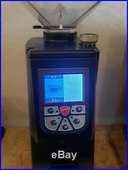 Eureka Atom Commercial Grade Coffee Grinder Matte Black