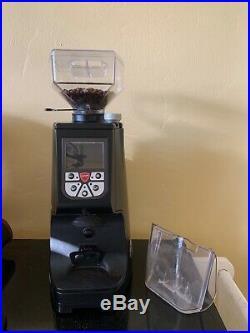 Eureka Atom Commercial Grade Coffee Grinder Matte Black No Reserve