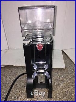 Eureka Mignon Instantaneo Programmable Dosing Burr Grinder Black (USED)