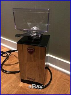 Eureka Mignon Silenzio Chrome Burr Espresso Grinder