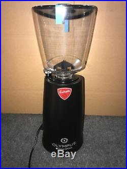 Eureka Olympus 75E Hi-Speed Burr Coffee Grinder Matte Black (Used)