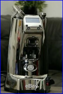 Eureka ZENITH 65 E Hi-Speed Espresso Burr Grinder Polished Chrome