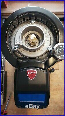 Eureka Zenith 65E High Speed Coffee Burr Grinder Matt Black