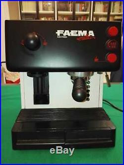 Faema Erika kaffeemaschine + kaffeemühle Espresso Coffee Burr grinder Tassen