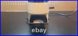 GAGGIA MDF BURR ESPRESSO COFFEE GRINDER White, 1985 Vintage, Working, Read